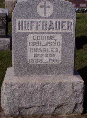 KINN HOFFBAUER, LOUISE - Hancock County, Ohio | LOUISE KINN HOFFBAUER - Ohio Gravestone Photos