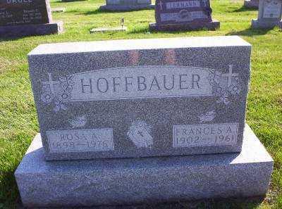 HOFFBAUER, ROSE A. - Hancock County, Ohio | ROSE A. HOFFBAUER - Ohio Gravestone Photos