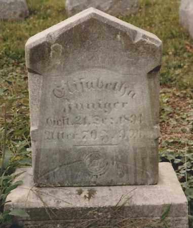 LAUBER INNIGER, ELIZABETHA - Hancock County, Ohio | ELIZABETHA LAUBER INNIGER - Ohio Gravestone Photos