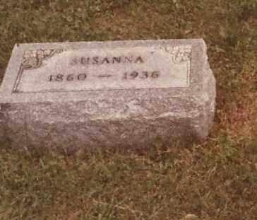 INNIGER KRICHBAUM, SUSANNA - Hancock County, Ohio | SUSANNA INNIGER KRICHBAUM - Ohio Gravestone Photos