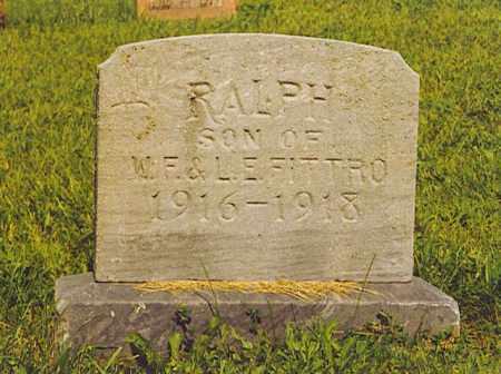 FITTRO, RALPH - Hardin County, Ohio   RALPH FITTRO - Ohio Gravestone Photos