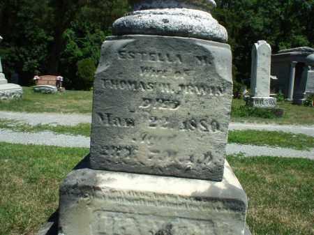 MOWREY IRWIN, ESTELLA - Hardin County, Ohio | ESTELLA MOWREY IRWIN - Ohio Gravestone Photos