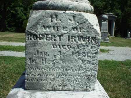 IRWIN, HENRIETTA JANE - Hardin County, Ohio | HENRIETTA JANE IRWIN - Ohio Gravestone Photos
