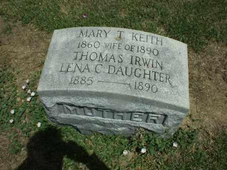 IRWIN, MARY - Hardin County, Ohio | MARY IRWIN - Ohio Gravestone Photos
