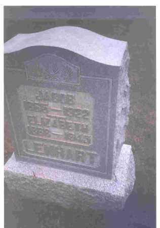 LENHART, ELIZABETH - Hardin County, Ohio | ELIZABETH LENHART - Ohio Gravestone Photos