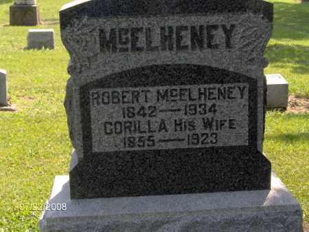 MCELHENEY, ROBERT - Hardin County, Ohio   ROBERT MCELHENEY - Ohio Gravestone Photos