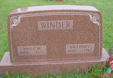 WINDER, ANNA M. - Hardin County, Ohio   ANNA M. WINDER - Ohio Gravestone Photos