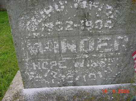 GARWOOD WINDER, HOPE - Hardin County, Ohio | HOPE GARWOOD WINDER - Ohio Gravestone Photos