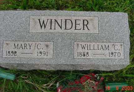 WINDER, WILLIAM CLARK JR. - Hardin County, Ohio | WILLIAM CLARK JR. WINDER - Ohio Gravestone Photos