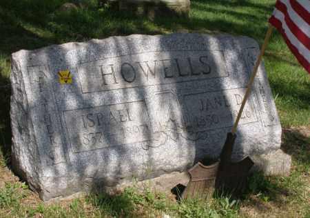 HOWELL, ISRAEL - Harrison County, Ohio | ISRAEL HOWELL - Ohio Gravestone Photos