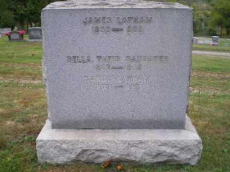 LATHAM, DELLA - Harrison County, Ohio | DELLA LATHAM - Ohio Gravestone Photos