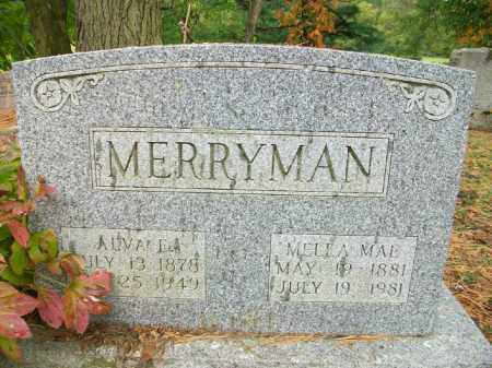 MERRYMAN, ALVA EMERSON - Harrison County, Ohio | ALVA EMERSON MERRYMAN - Ohio Gravestone Photos