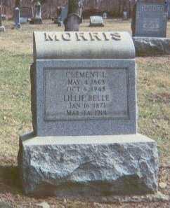 MORRIS, LILLIE BELLE - Harrison County, Ohio | LILLIE BELLE MORRIS - Ohio Gravestone Photos