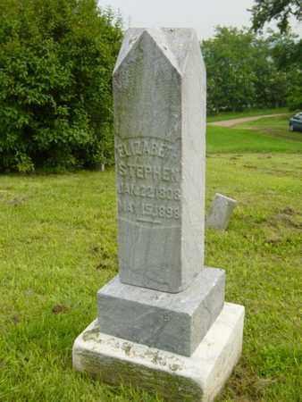 STEPHEN, ELIZABETH - Harrison County, Ohio | ELIZABETH STEPHEN - Ohio Gravestone Photos
