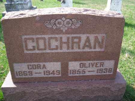 STEVENS COCHRAN, CORA - Highland County, Ohio | CORA STEVENS COCHRAN - Ohio Gravestone Photos