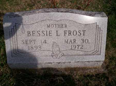 MORRIS FROST, BESSIE L. - Highland County, Ohio | BESSIE L. MORRIS FROST - Ohio Gravestone Photos