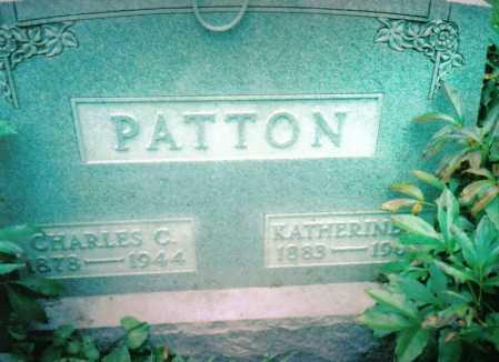 PATTON, KATHERINE - Highland County, Ohio | KATHERINE PATTON - Ohio Gravestone Photos