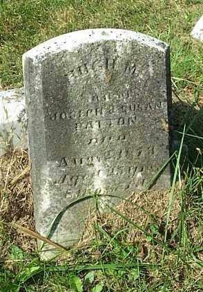 PATTON, HUGH M. - Highland County, Ohio   HUGH M. PATTON - Ohio Gravestone Photos