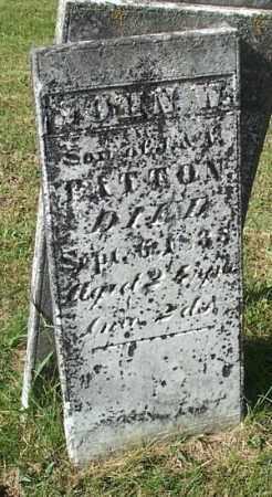 PATTON, JOHN W. - Highland County, Ohio | JOHN W. PATTON - Ohio Gravestone Photos