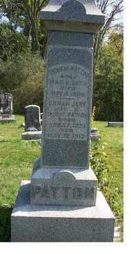 PATTON, THOMAS - Highland County, Ohio | THOMAS PATTON - Ohio Gravestone Photos
