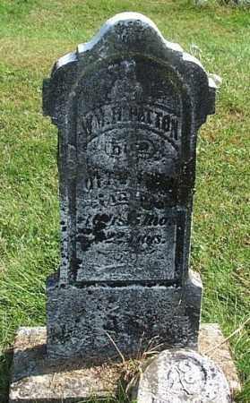 PATTON, WM. H. - Highland County, Ohio | WM. H. PATTON - Ohio Gravestone Photos