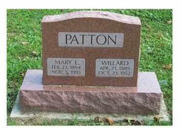 PATTON, WILLARD - Highland County, Ohio | WILLARD PATTON - Ohio Gravestone Photos