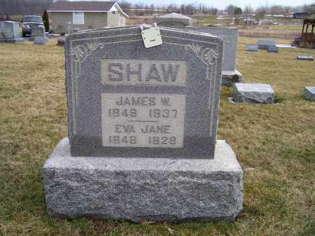 SHAW, JAMES W. - Highland County, Ohio | JAMES W. SHAW - Ohio Gravestone Photos