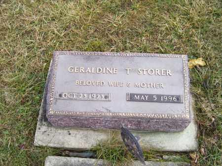 STORER, GERALDINE T. - Highland County, Ohio | GERALDINE T. STORER - Ohio Gravestone Photos