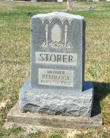 STORER, REBECCA - Highland County, Ohio   REBECCA STORER - Ohio Gravestone Photos