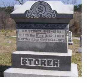 STORER, MARTHA - Highland County, Ohio | MARTHA STORER - Ohio Gravestone Photos
