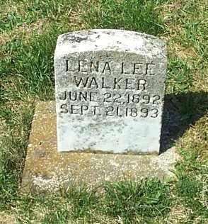 WALKER, LENA LEE - Highland County, Ohio   LENA LEE WALKER - Ohio Gravestone Photos