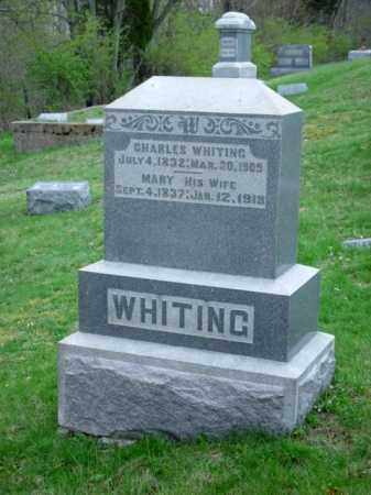 WHITING, MARY - Highland County, Ohio | MARY WHITING - Ohio Gravestone Photos
