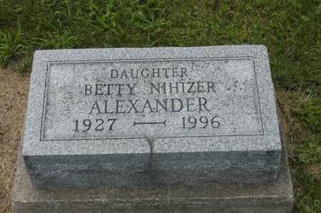 ALEXANDER, BETTY - Hocking County, Ohio   BETTY ALEXANDER - Ohio Gravestone Photos