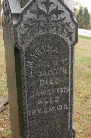 BAINTER, MARTHA - Hocking County, Ohio | MARTHA BAINTER - Ohio Gravestone Photos