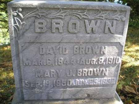 BROWN, MARY JANE - Hocking County, Ohio | MARY JANE BROWN - Ohio Gravestone Photos
