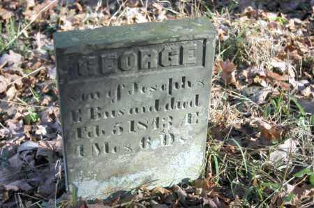 BUSARD, GEORGE - Hocking County, Ohio | GEORGE BUSARD - Ohio Gravestone Photos