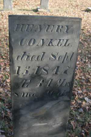 CONKEL, HENERY - Hocking County, Ohio   HENERY CONKEL - Ohio Gravestone Photos