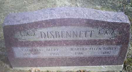BEERY DISBENNETT, CATHERINE - Hocking County, Ohio | CATHERINE BEERY DISBENNETT - Ohio Gravestone Photos