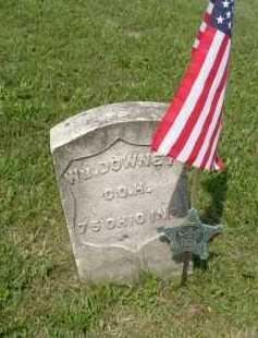 DOWNEY, WILLIAM - Hocking County, Ohio   WILLIAM DOWNEY - Ohio Gravestone Photos