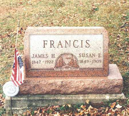 BARRON FRANCIS, SUSAN E. - Hocking County, Ohio | SUSAN E. BARRON FRANCIS - Ohio Gravestone Photos