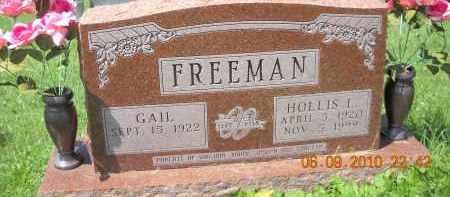 FREEMAN, GAIL - Hocking County, Ohio   GAIL FREEMAN - Ohio Gravestone Photos
