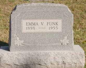 FUNK, EMMA V. - Hocking County, Ohio | EMMA V. FUNK - Ohio Gravestone Photos