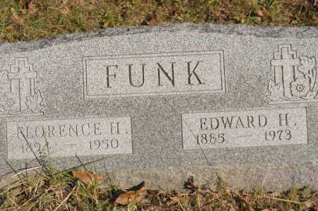 FUNK, EDWARD H. - Hocking County, Ohio | EDWARD H. FUNK - Ohio Gravestone Photos