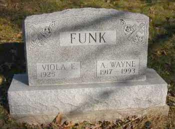 FUNK, VIOLA E. - Hocking County, Ohio | VIOLA E. FUNK - Ohio Gravestone Photos