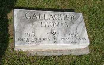 GALLAGHER, THOMAS - Hocking County, Ohio   THOMAS GALLAGHER - Ohio Gravestone Photos