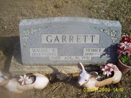 GARRETT, HOMER M. - Hocking County, Ohio | HOMER M. GARRETT - Ohio Gravestone Photos