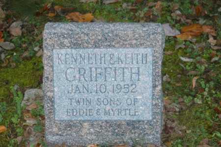 GRIFFITH, KEITH - Hocking County, Ohio | KEITH GRIFFITH - Ohio Gravestone Photos