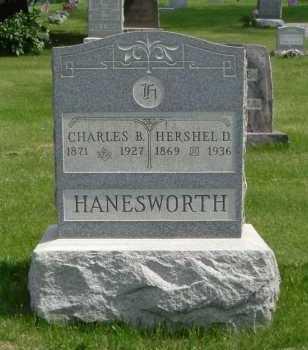 HANESWORTH, CHARLES B. - Hocking County, Ohio   CHARLES B. HANESWORTH - Ohio Gravestone Photos