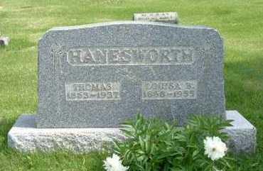 HANESWORTH, WILLIAM THOMAS - Hocking County, Ohio | WILLIAM THOMAS HANESWORTH - Ohio Gravestone Photos
