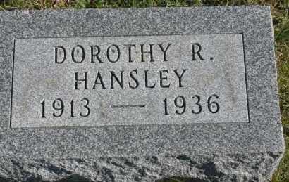 HANSLEY, DOROTHY R - Hocking County, Ohio   DOROTHY R HANSLEY - Ohio Gravestone Photos